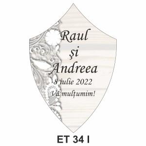 Eticheta pentru sticla ET 34