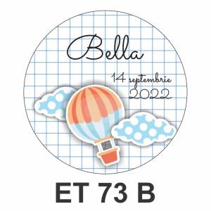 Eticheta mica ET 73 B