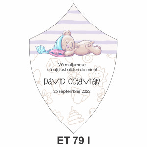 Eticheta pentru sticla ET 79 I