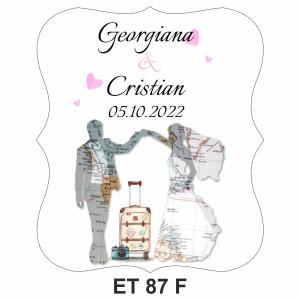 Eticheta pentru sticla ET 87 F