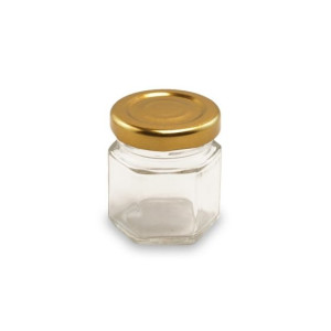 Borcan marturii 50 ml Hexagonal