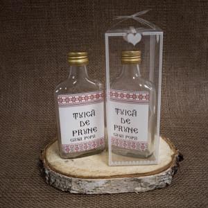 Sticla Marturii 200 ml Flask Pachet Cadou