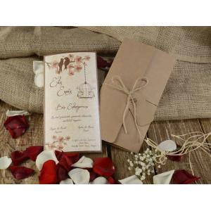 Invitatie de nunta 16207 ARMONI