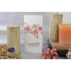 Invitatie cu tema florala 17106 ARMONI