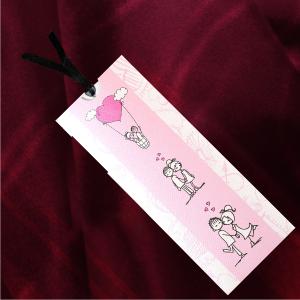 Invitatie de nunta haioasa roz sidef 2178 TBZ