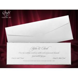 Invitatie de nunta eleganta 3667 SEDEF