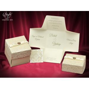 Invitatie de nunta cutiuta 3673 SEDEF