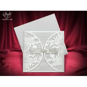 Invitatie de nunta eleganta 3690 SEDEF
