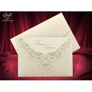 Invitatie de nunta eleganta 3698 SEDEF