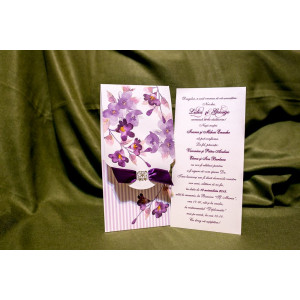 Invitatie de nunta 4003 BUKET-BEST