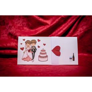 Invitatie de nunta 5007 BUKET-BEST