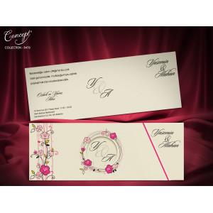 Invitatie de nunta florala 5476 CONCEPT