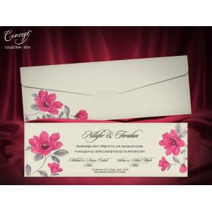 Invitatie de nunta florala 5516 CONCEPT