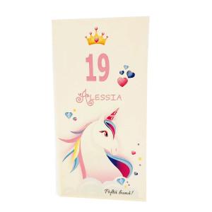 M88 Alb/Crem - Meniu cu unicorn