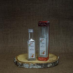 Sticla Marturii 100 ml Cognac Pachet Cadou Bujori
