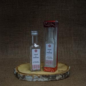 Sticla Marturii 100 ml Cognac Pachet Cadou Traditional