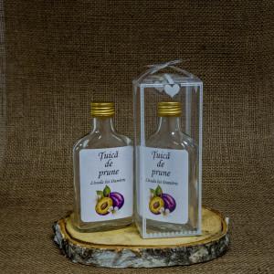 Sticla Marturii 200 ml Flask Pachet Cadou Tuica