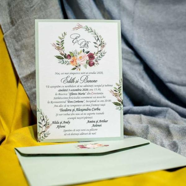 Invitatie de nunta 970 NEW BEST