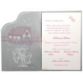Invitatie de nunta haioasa cu calc 101511 TBZ