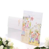 Invitatie de nunta haioasa cu poveste de dragoste 140004 TBZ