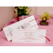 Lichidare stoc 5 - Invitatie de nunta retro