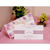Lichidare stoc 4 - Invitatie cu flori mov