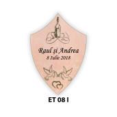 Eticheta pentru sticla ET 08 I