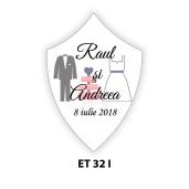 Eticheta pentru sticla ET 32 I