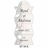 Eticheta pentru sticla ET 34 S