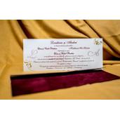 Invitatie de nunta 6039 BUKET-BEST