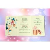 Invitatie de botez 128 LARA BABY - BEST