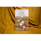Invitatie de nunta 4004 BUKET-BEST