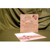 Invitatie de nunta 4015 BUKET-BEST