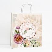 Punga nunta model floral cu bujori PN 10032