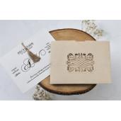 Invitatie de nunta glam 1127 BUTIQLINE