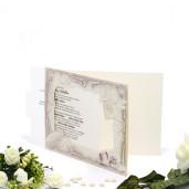 Invitatie de nunta cu poza mirilor 115409 TBZ