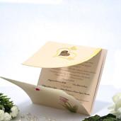Invitatie de nunta cu lalea si fluturasi 115444 TBZ