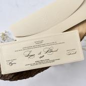 Invitatie eleganta 1166 BUTIQLINE