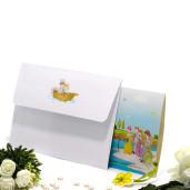 Invitatie de nunta haioasa cu barca 140009 TBZ