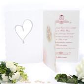 Invitatie florala eleganta 150005 TBZ