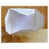 Invitatie de botez eleganta 15302 DELUXE