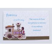 Card de confirmare cu locomotiva 5505 DELUXE