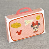 Invitatie de botez travel cu Minnie Mouse 15701 DELUXE