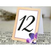 Numar de masa floral 1635 CLARA