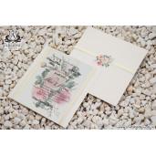 Invitatie florala cu foita 19327 ARMONI