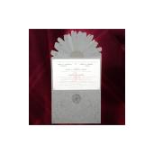 Invitatie florala cu margarete 150007 TBZ