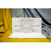 Invitatie de nunta 212 NEW BEST