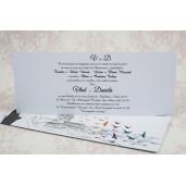 Invitatie de nunta model desen grafic 2186 STYLISH