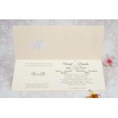 Invitatie de nunta retro 2187 STYLISH