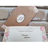 Invitatie de nunta 2665 POPULAR